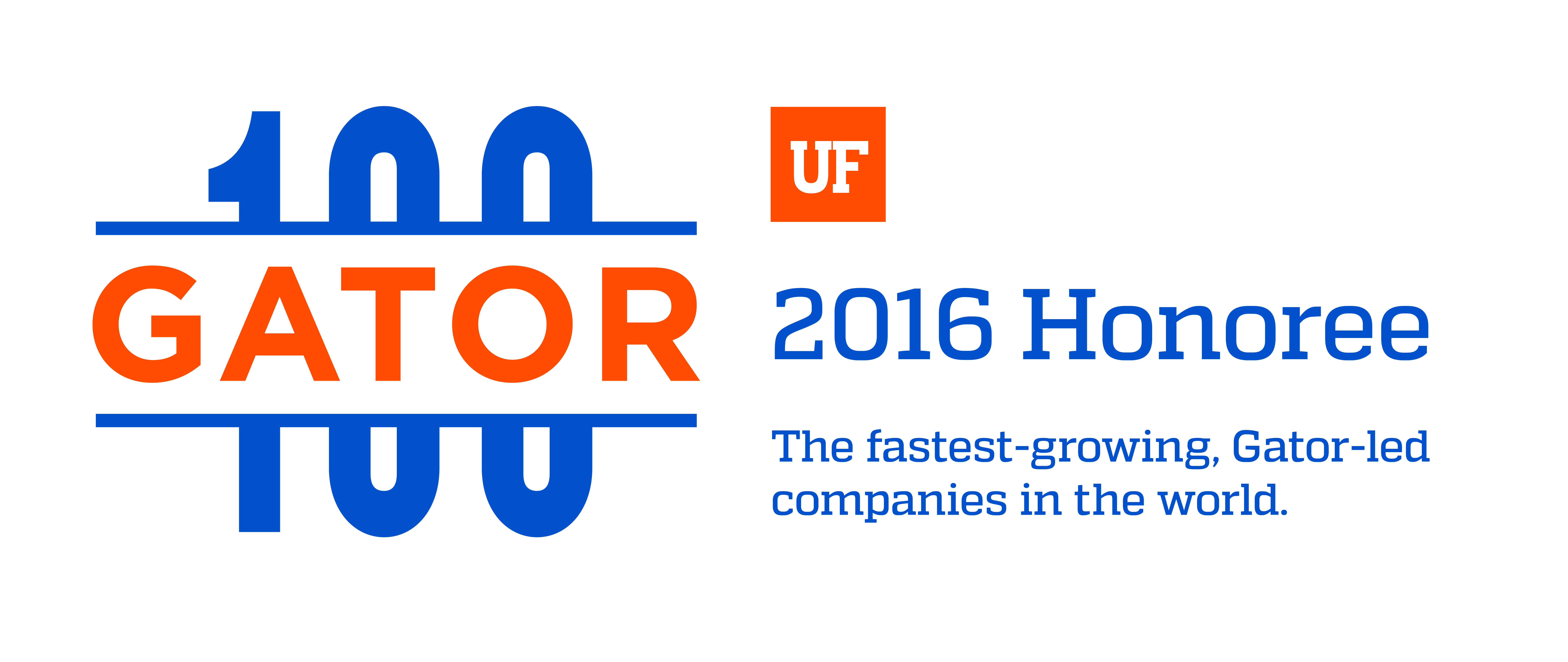 Gator100 2016 Honoree Logo