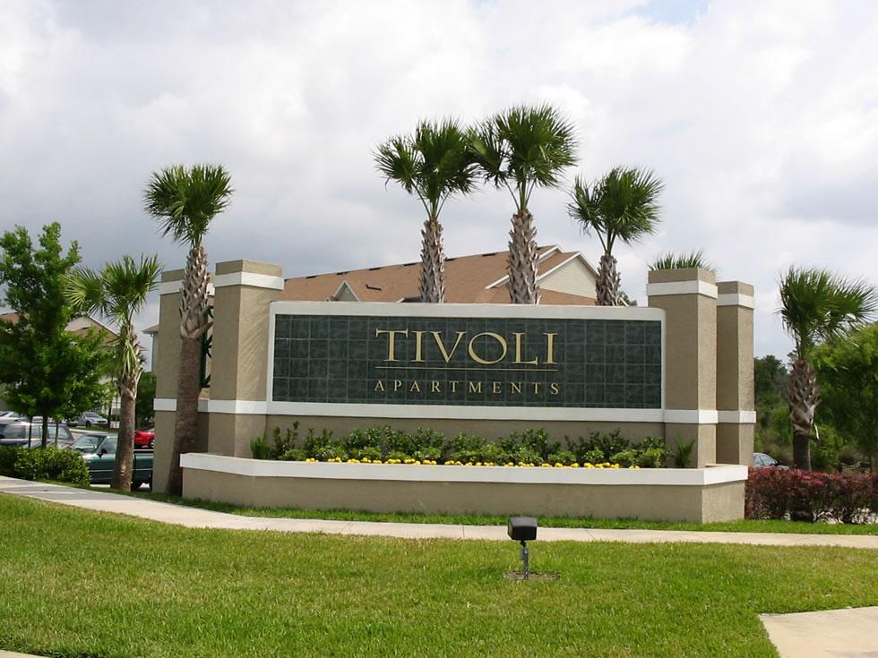 Tivoli Front Signage